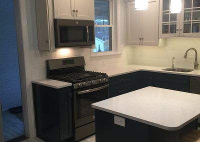 New Island, Appliances & Backsplash