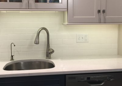 New Sink and Backsplash