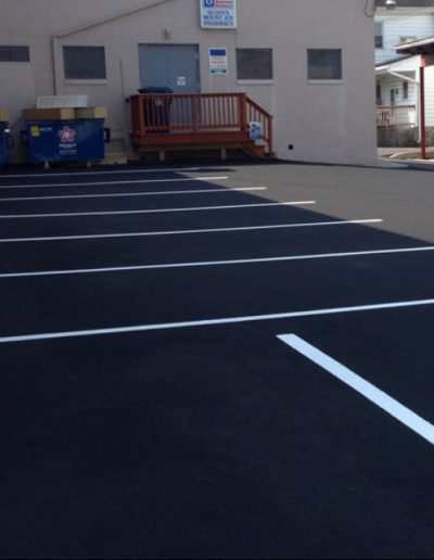 Commercial Driveway & Lot Sealing